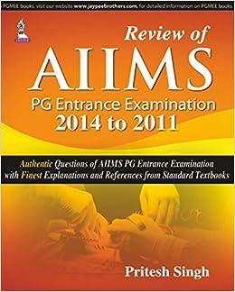 Buy Review of AIIMS PG Entrance Examination 2014-2011 Book