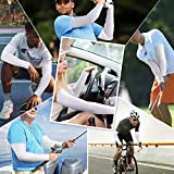 UV Protection Cooling Arm Sleeves for Men Women