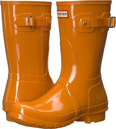 Short Womens Gloss Hunter Rain Boots Orignal Marigold ZEfqp