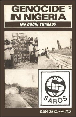 """""""Genocide in Nigeria"""" de Ken Saro-Wiwa"""