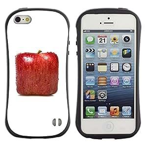 Suave TPU GEL Carcasa Funda Silicona Blando Estuche Caso de protección (para) Apple Iphone 5 / 5S / CECELL Phone case / / Square Apple /
