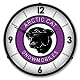 Arctic Cat Lighted Wall Clock For Sale