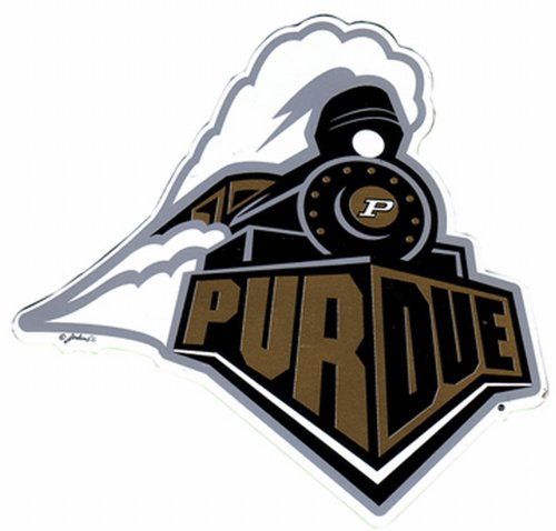 NCAA Purdue Boilermakers Car Magnet Sm by Game Day Outfitters