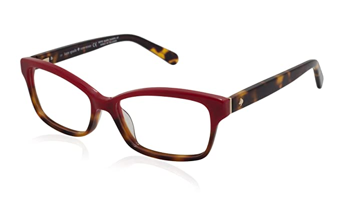 e21602e4e6ee Image Unavailable. Image not available for. Colour  Eyeglasses Kate Spade  Sharla 01Q0 Red Tortoise Fade