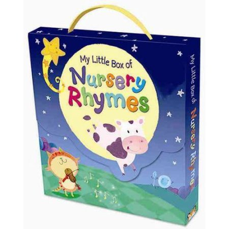Nursery Rhyme Book Set For Children in a Box Set. Best Bedtime...