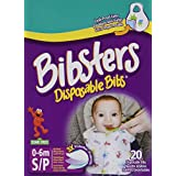 Bibsters Disposable Bibs Small, 120 Count