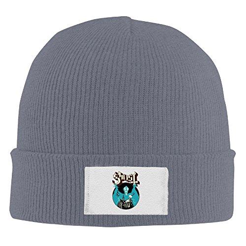 Amone Ghoste Winter Knitting Wool Warm Hat Asphalt