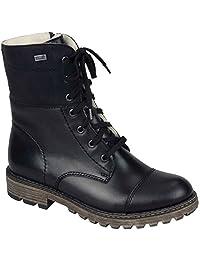 Rieker Women's Y6723-00 Black Winter Boot