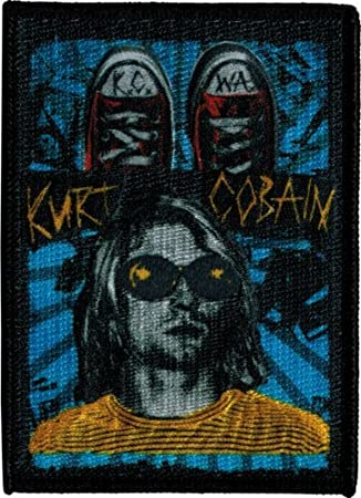 29018 Kurt Cobain Nirvana Grunge Converse Zapatos KC WA ...