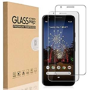 HEYUS [2 Pack] Google Pixel 3a XL Screen Protector, 9H Hardness Premium Tempered Shatterproof Glass Screen Protector Film for Google Pixel 3a XL