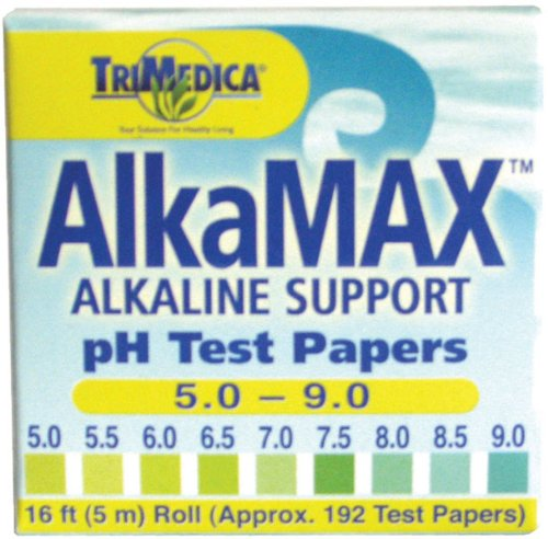 AlkaMax pH Test Papers 15 ft. roll 180 (Trimedica Alkamax Ph Test Papers)