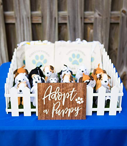 Favor Sign for Dog Themed or Puppy Theme Birthday Party