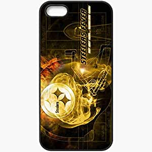Personalized iPhone 5 5S Cell phone Case/Cover Skin 1225 pittsburgh steelers 1 Black by lolosakes