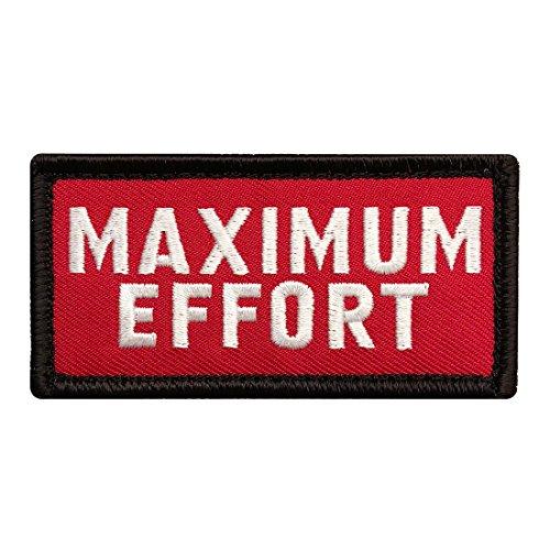 Maximum Effort Deadpool Tactical Morale Hook Patch (3.0 X 1.5)