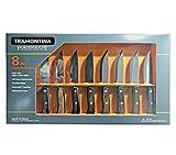 Sporting Goods : Tramontina Porterhouse Stain-Free High-Carbon Steel 8 Pc Steak Knife Set