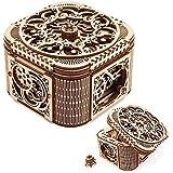 UGEARS Mechanical Models 3-D Wooden Puzzle - Treasure Box
