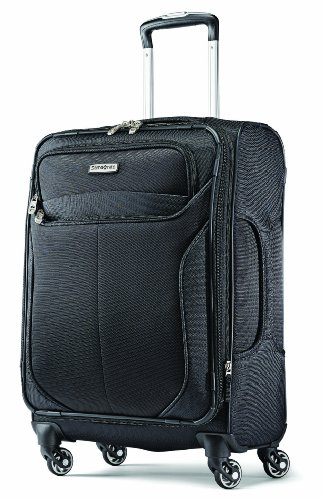 Samsonite Liftwo Spinner 21 Luggage, Black, One Size ()