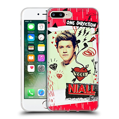 Officiel One Direction Niall Horan Instantané Souvenirs De Minuit Étui Coque en Gel molle pour Apple iPhone 7 Plus / 8 Plus