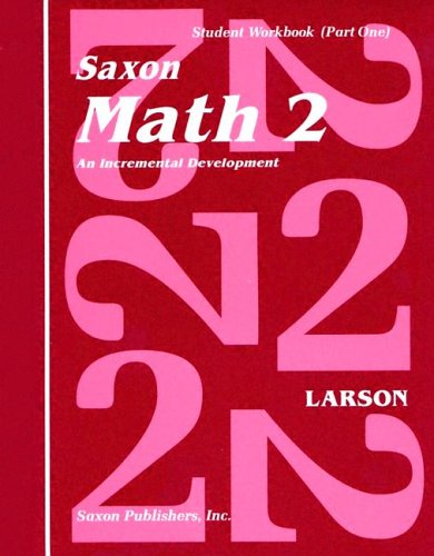 Pdf Teaching Saxon Math 2: An Incremental Development Part 1 & 2 (Workbook and Fact Cards-2  volume set)
