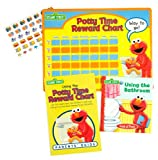 img - for Elmo's Potty Time Book and Reward Chart book / textbook / text book