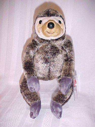30e66f8313c Amazon.com  Ty Beanie Babies - Slowpoke the Sloth  Toys   Games