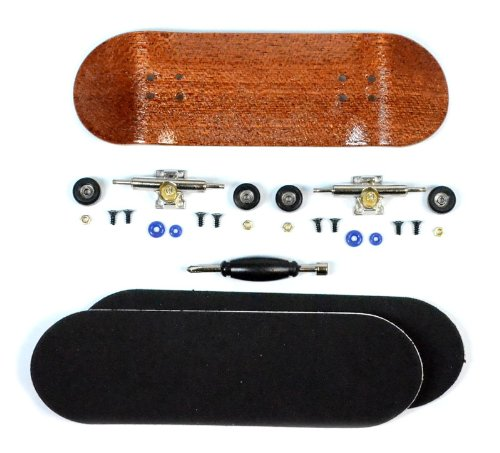 Inoxidable Finger Skateboard Purple//SI//SWZ South Boards/® Handmade Wood tarjeta Real Madera
