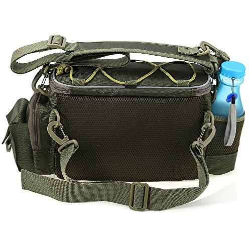 Amazon.com : Multifunction Lure Waist Pack Fishing Tackle ...