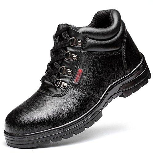 Chaussures Travail Homme Securite Bottes Bout Acier Hiver Doublure Chaude Chaussure Securité