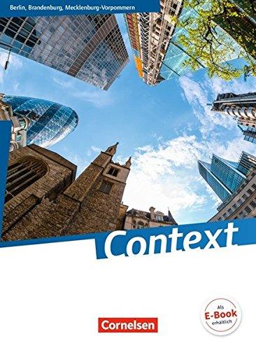 Context - Berlin/ Brandenburg/ Mecklenburg-Vorpommern: Schülerbuch: Kartoniert