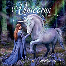 Formen Magazine Calendario 2020.Unicorns By Anne Stokes Wall Calendar 2020 Art Calendar