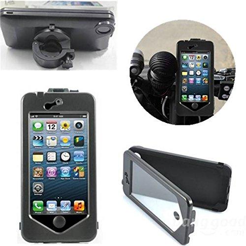 [invio gratuito] impermeabile all acqua caso moto bicicletta bicicletta titolare Mount per iPhone 6//Waterproof Case Motorcycle Bicycle Bike Holder Mount For iPhone 6