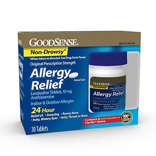 Good Sense Allergy Loratadine Tablets