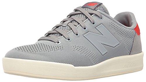 New Balance Mens 300 Lifestyle Court Shoe Fashion Sneaker, Gris/gris, 37.5 D(M) EU/4.5 D(M) UK