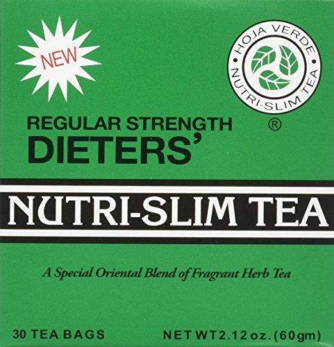 EIGHT BOXES of 30 Tea Bags Regular Strength Dieters' Nutr...