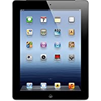Apple iPad 3 MD367LL/A 32GB Wifi + 4G Unlocked 9.7,Black(Certified Refurbished)
