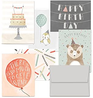 Amazoncom 72 Birthday Cards Its Your Birthday 6 Designs