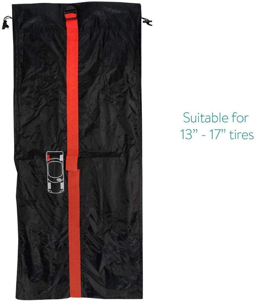 225//50 R17 et Plus AGKupel Lot de 4 Paires de Chaussettes /à Neige en Textile Tribologic Classique Hiver Roue de Voiture Glace Neige Chaussettes universelles Compatibles avec 215//55 R16