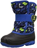 Kamik Boys' SNOWBUG4 Snow Boot, Navy/Blue, 8 Medium US Toddler