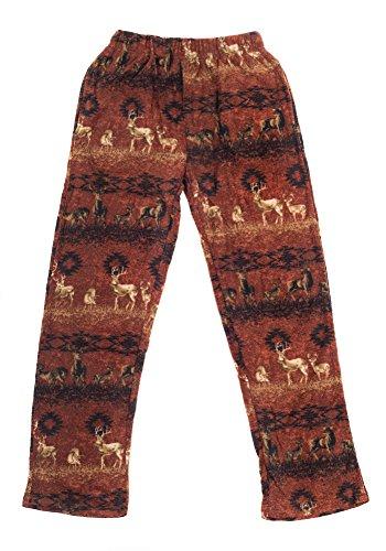 Boys Fleece Pajama Pants (North 15 Boy's Cozy Camouflage Polar Fleece Lounge Pants-1231B-Print1-10-12)