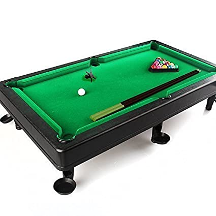 Wishland Fold Up Snooker Pool Table Game Toys Set