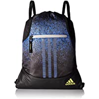 adidas Alliance Sublimated Prime Sackpack, Grey Two/Semi Solar Yellow, One Size