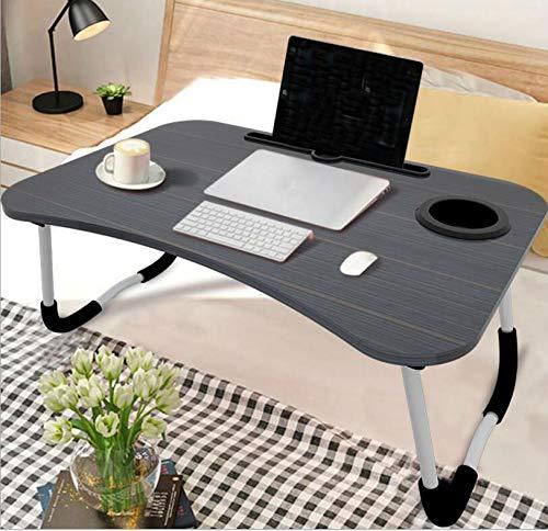 Lianji - Mesa plegable portátil para ordenador portátil, mesa de ...