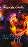 Front cover for the book The Darkest Lie by Gena Showalter