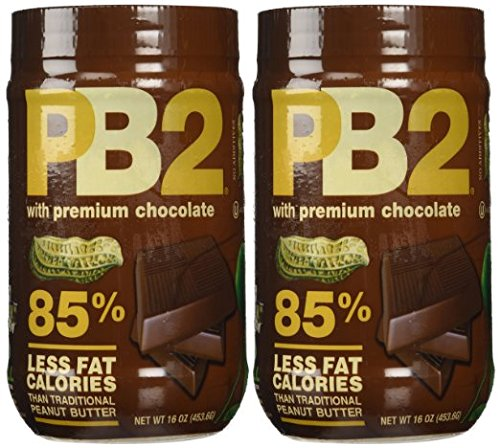 PB2 Chocolate Powdered Peanut Butter - 1LB - 2 (2 Pack Chocolate)