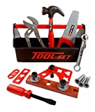 21 Piece Workshop Tool Box Toy Set for Kids Reviews