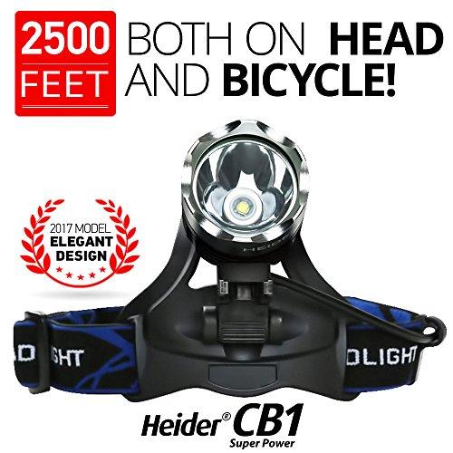 Heider CB1 Headlamp Flashlight RECHARGEABLE product image