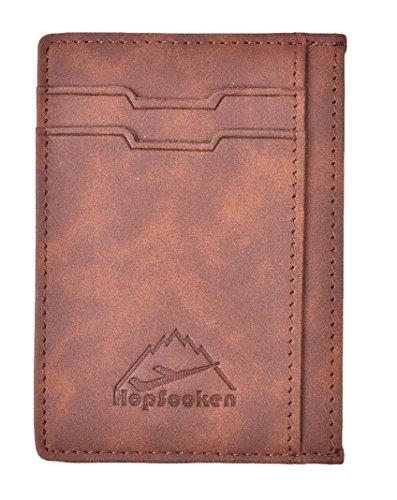 Hopsooken Wallet Minimalist Genuine Leather product image