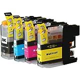 ブラザー LC111 互換インク4色セット (プリンター2015年1月以降販売製品 非対応版)