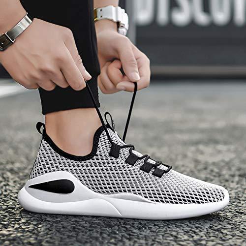 Golike Mens Walking Athletic Shoes Casual Sneaker Cross Training Running Footwear Men Tennis Breathable Lightweight