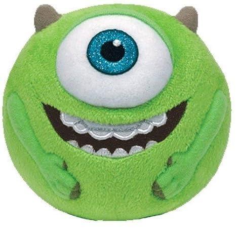 Ty beanie Ballz Monsters University - Mike Wazowski Soft Plush Toy ...